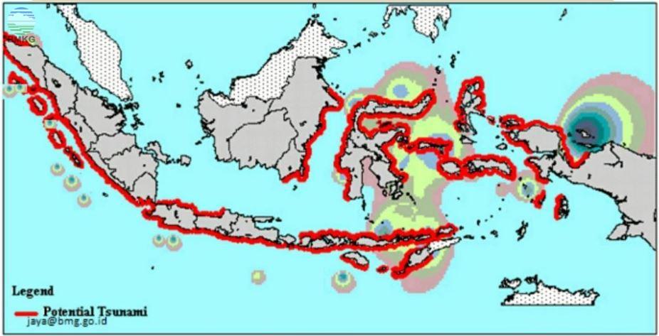 Siaran Pers Tanggapan Terkait Potensi Tsunami Pandeglang, Banten