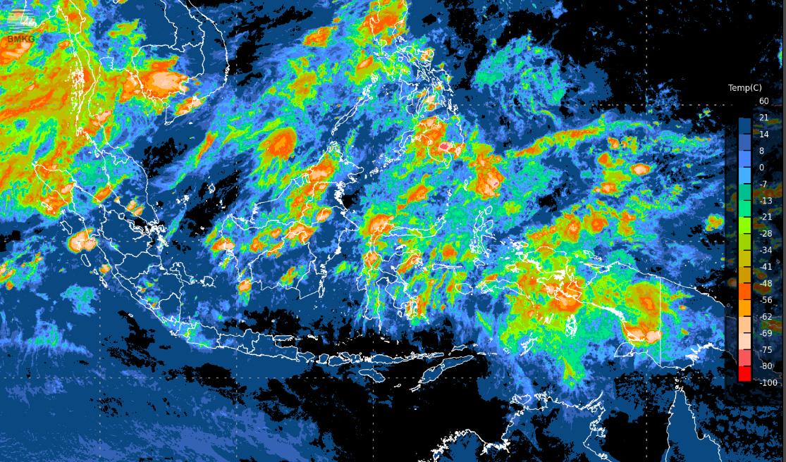 Potensi Curah Hujan Tinggi Masih Ada Hingga 5 Hari ke Depan (11-15 Juni 2019)