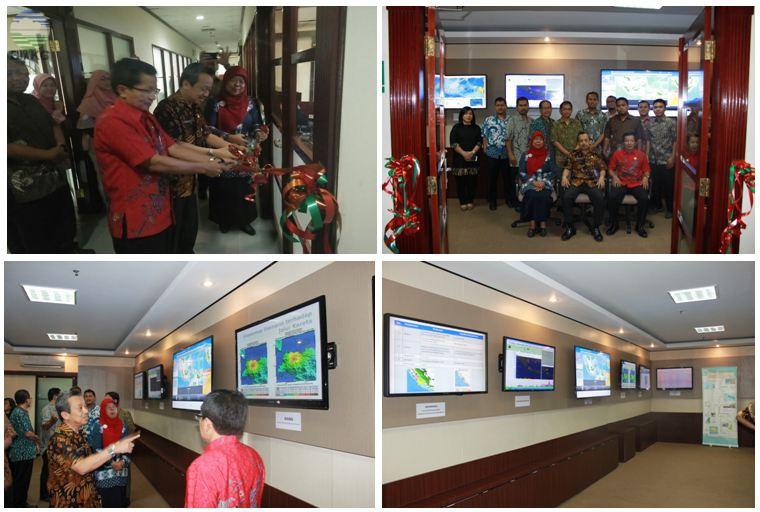 Peresmian Ruangan Operasional Pusat Seismologi Teknik, Geofisika Potensial dan Tanda Waktu