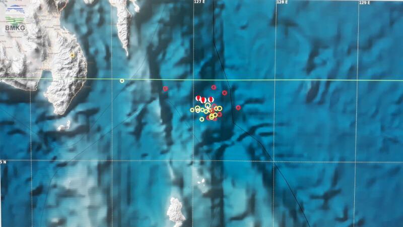 Serangkaian Aktivitas Gempabumi di Zona Subduksi Timur Laut Talaud, Fenomena Wajar