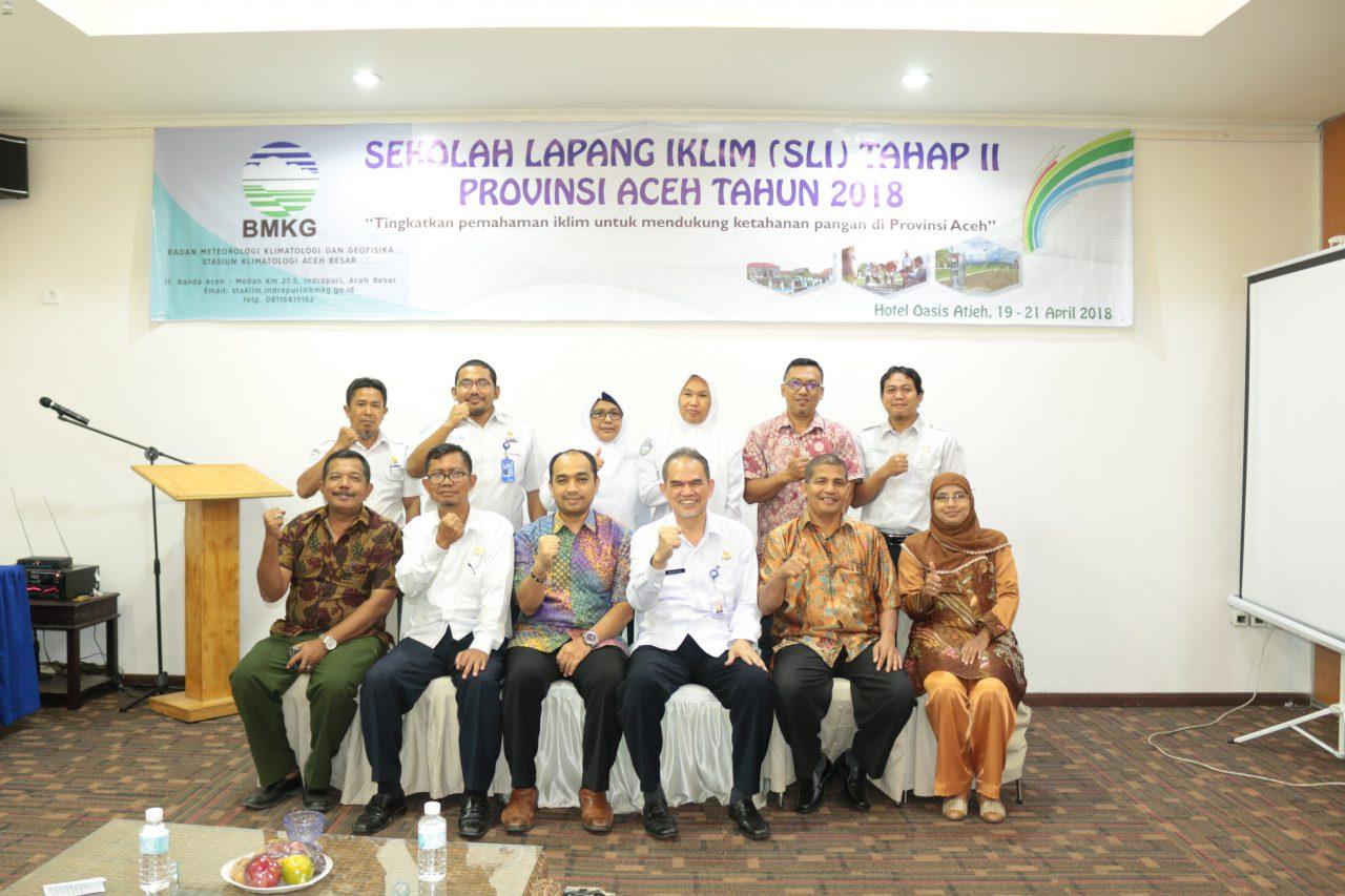 Sekolah Lapang Iklim dan FGD Provinsi Aceh Tahun 2018