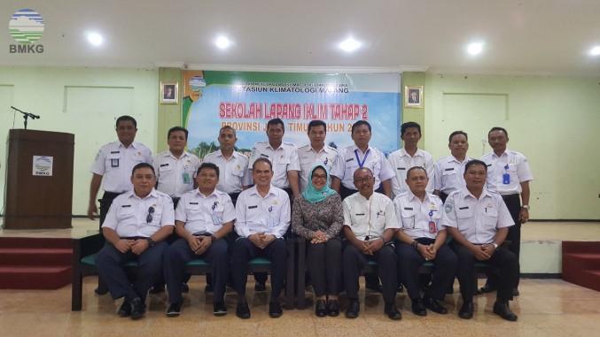 Sekolah Lapang Iklim Tahap 2 Provinsi Jawa Timur Tahun 2018