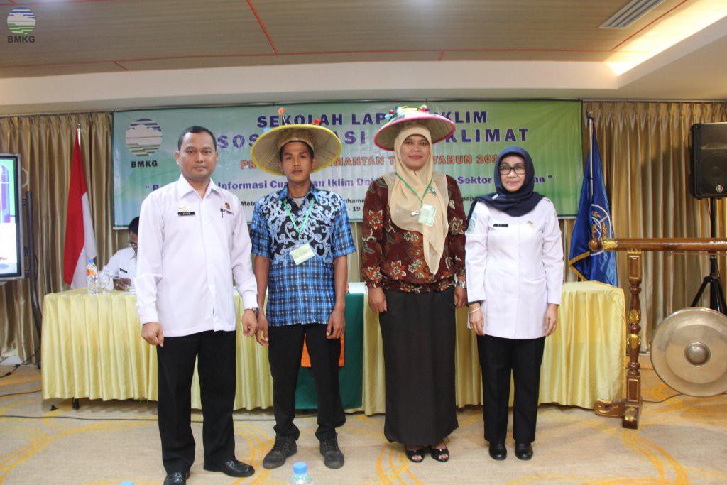 Sosialisasi Agroklimat Provinsi Kalimantan Timur Tahun 2018
