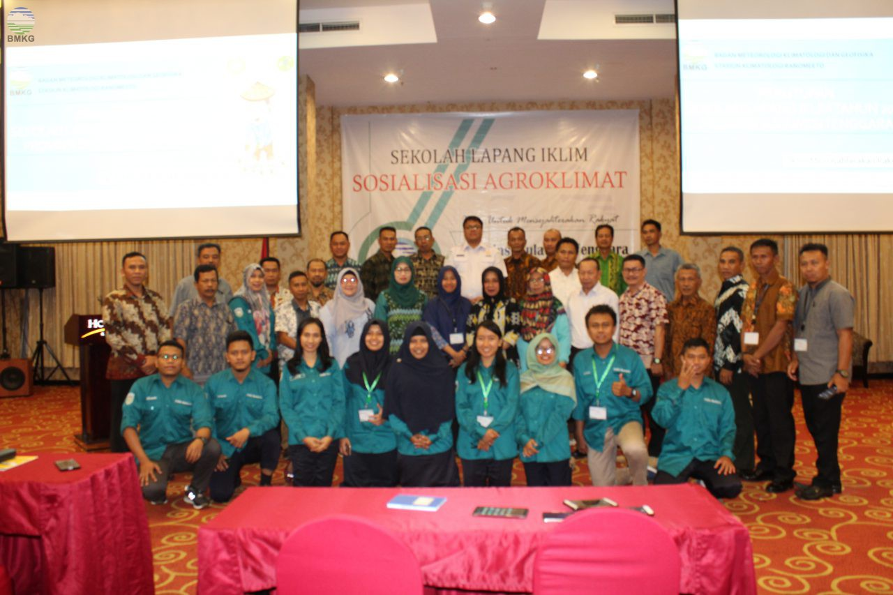 Sekolah Lapang Iklim Tahap II - Sosialisasi Agroklimat Sulawesi Tenggara Tahun 2019