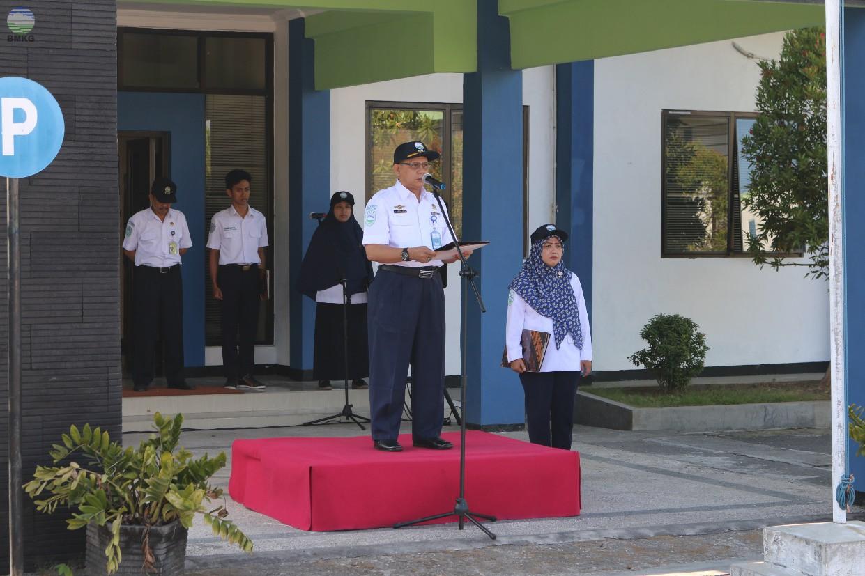 Upacara Peringatan HMKG ke-71 UPT Provinsi Jawa Timur