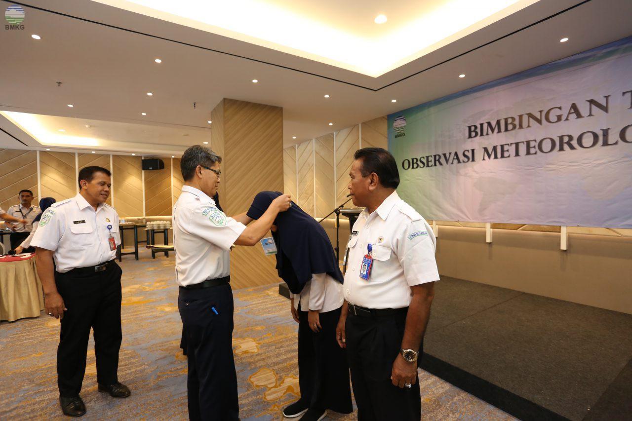 Bimbingan Teknis Observasi Meteorologi Udara Atas