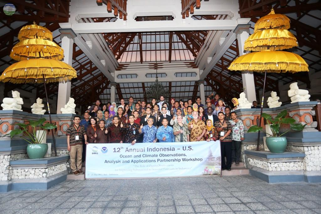 Kementerian Koordinator Bidang Maritim Dukung Kolaborasi BMKG - NOAA, The 12th Annual Indonesia - U.S.  Ocean and Climate Observation Partnership Workshop