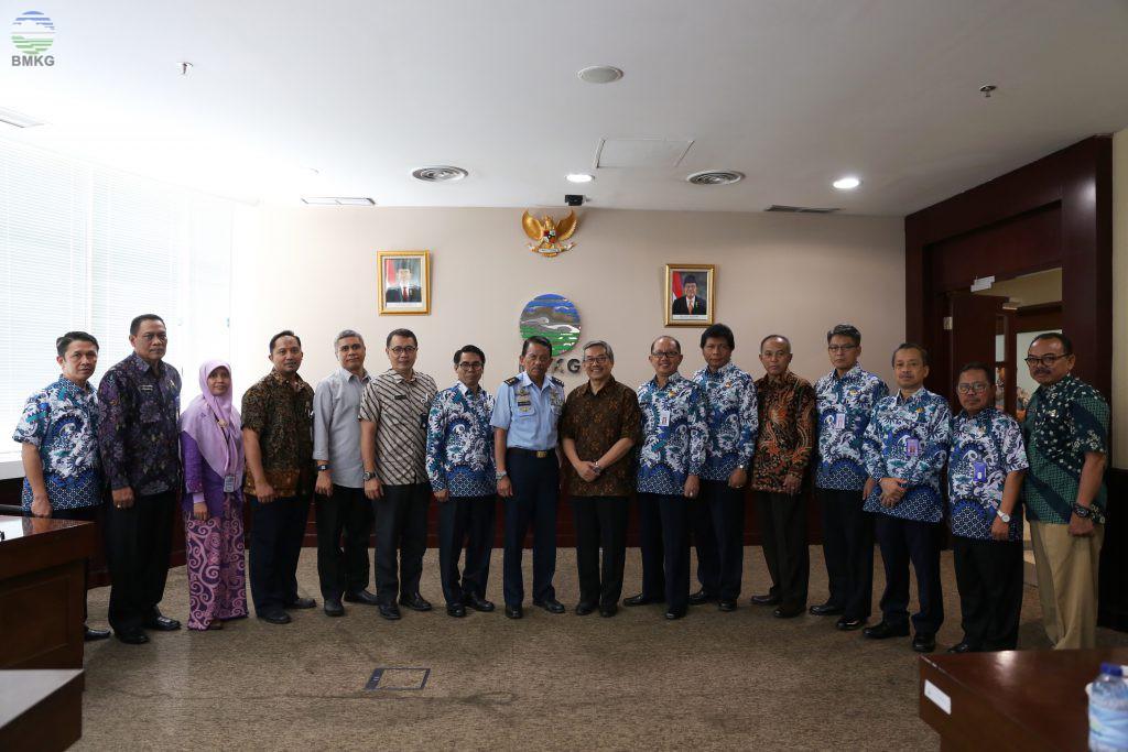 Dewan Pertimbangan Presiden Kunjungi BMKG