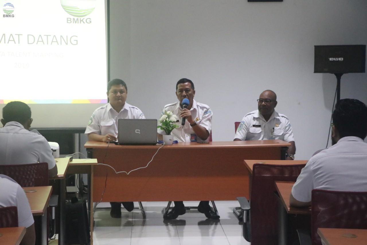 Penyelenggaraan Talent Mapping BMKG Koordinator Wilayah Papua Barat