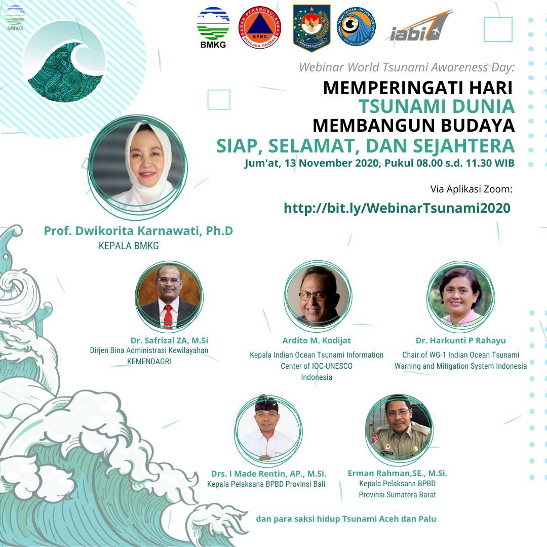 Peringatan Hari Tsunami Dunia; Membangun Budaya Siap, Selamat dan Sejahtera