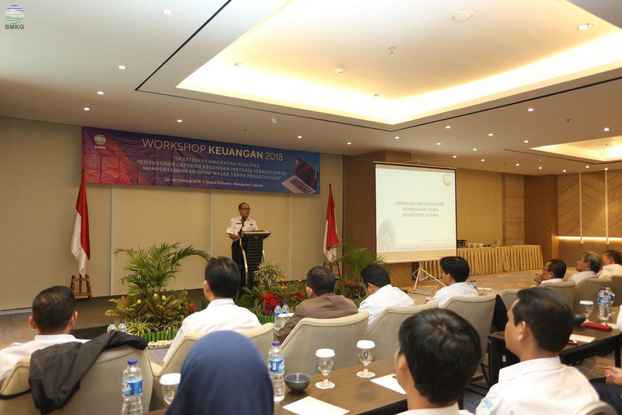 Workshop Keuangan, Strategi Peningkatan Kualitas Penyusunan Laporan Keuangan Instansi Sebagai Upaya Mempertahankan Opini Wajar Tanpa Pengecualian