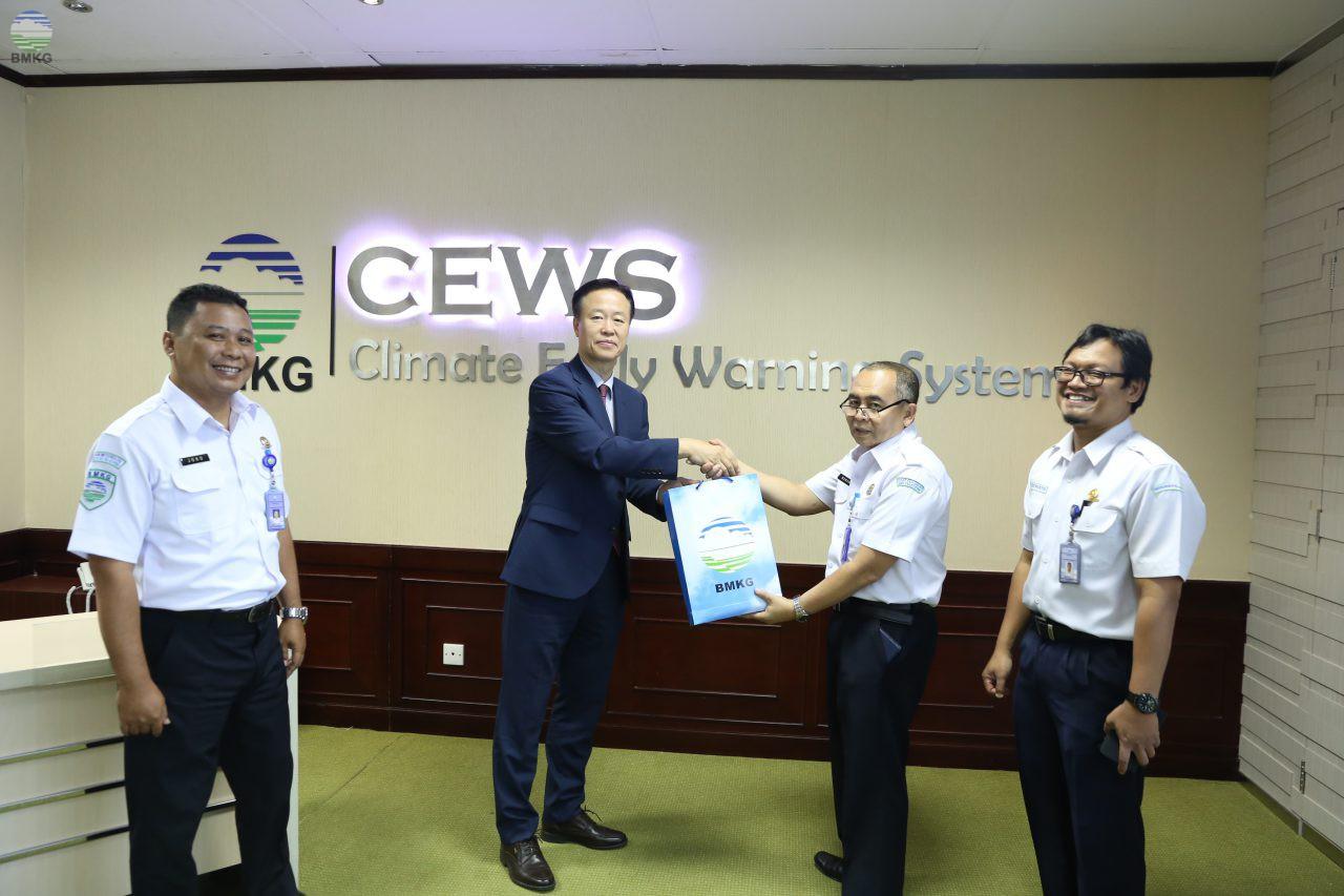 Visitasi Delegasi Korea Meteorological Administration