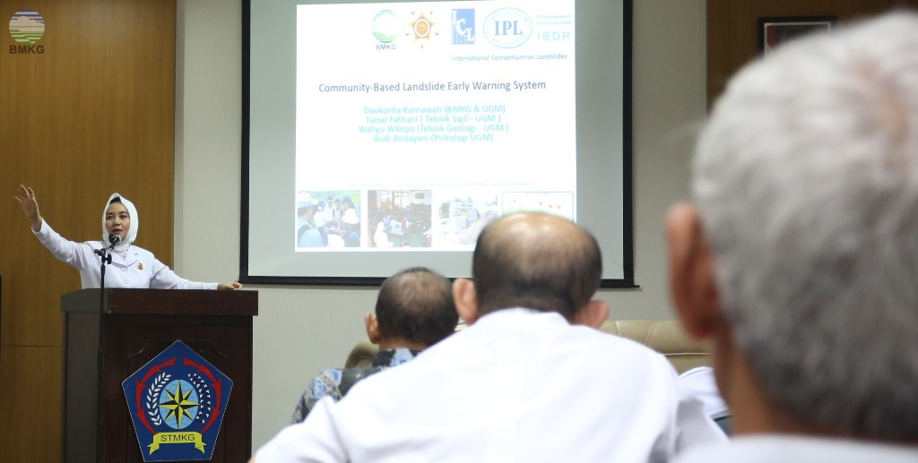 Kepala BMKG Buka Seminar Hasil Penelitian dan Pengabdian Masyarakat