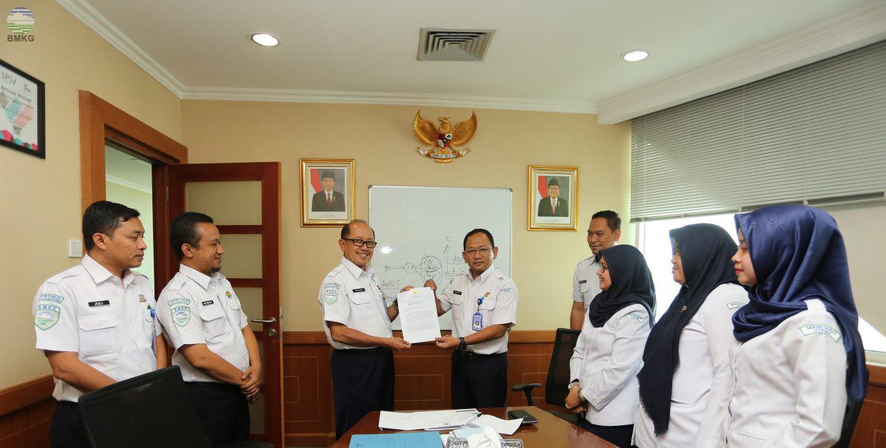Menteri Pendayagunaan Aparatur Negara dan RB Setujui Penataan Organisasi dan Tata Kerja UPT BMKG