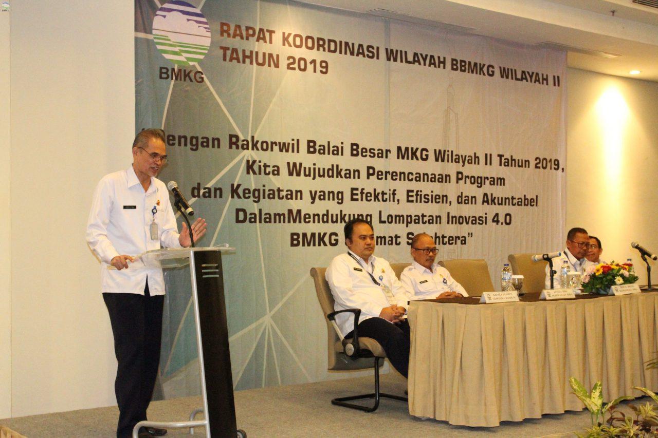 Rapat Koordinasi Wilayah Tahun 2019 BBMKG Wilayah II Tangerang Selatan