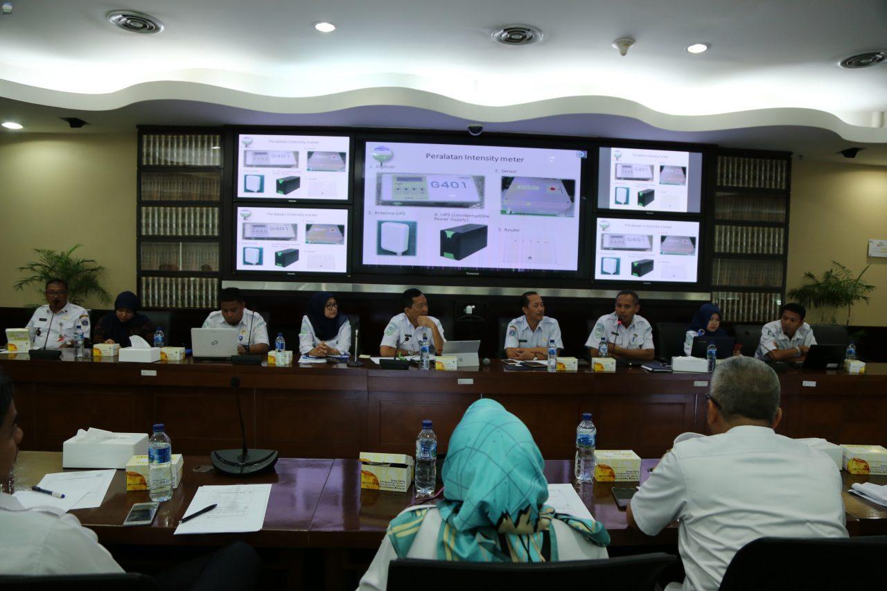 Rapat Koordinasi Pemasangan Peralatan Intensitymeter