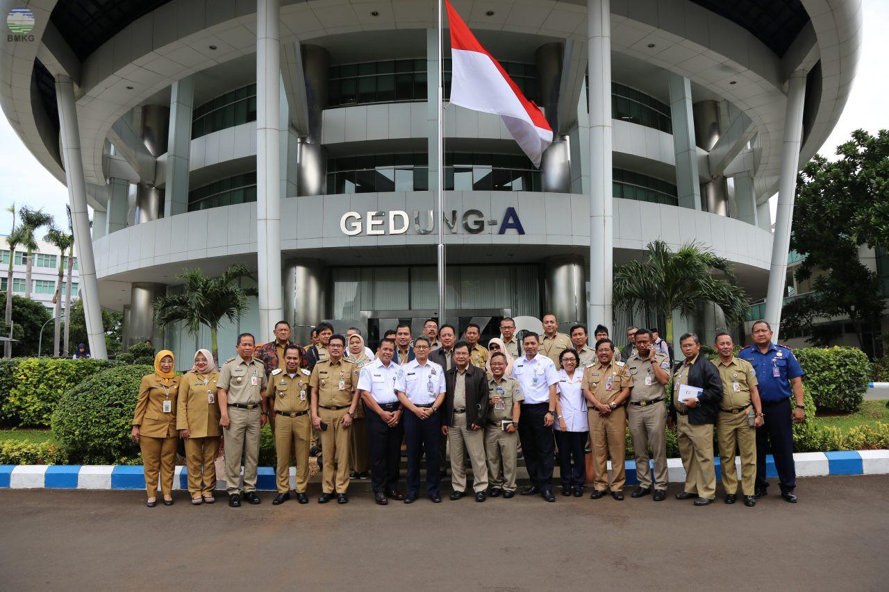 Pemerintah Provinsi DKI Jakarta Sambangi BMKG