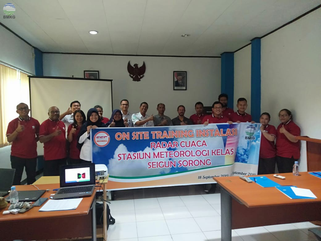 On Site Training Instalasi Radar Cuaca