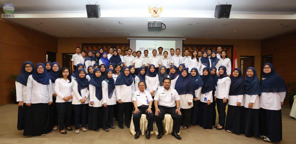 Rekonsiliasi Data Kepegawaian Kantor Pusat BMKG Tahun 2017