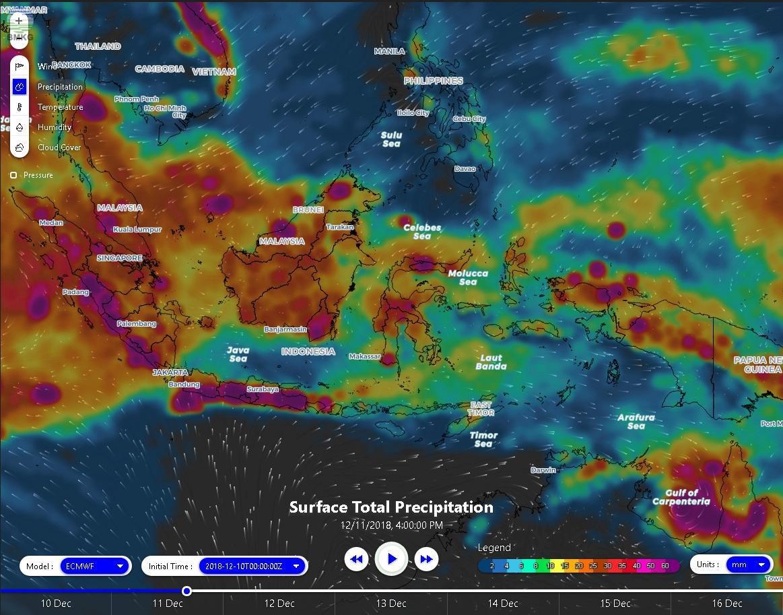 Hujan Lebat Hingga Satu Minggu ke Depan, Waspada Potensi Banjir dan Longsor di Sumatera dan Jawa