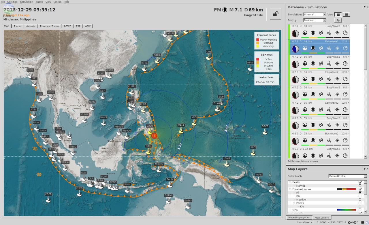 Gempabumi Kuat M 7,1 Guncang Filipina Tenggara dan Sulawesi Utara, Tidak Berpotensi Tsunami di Wilayah Indonesia