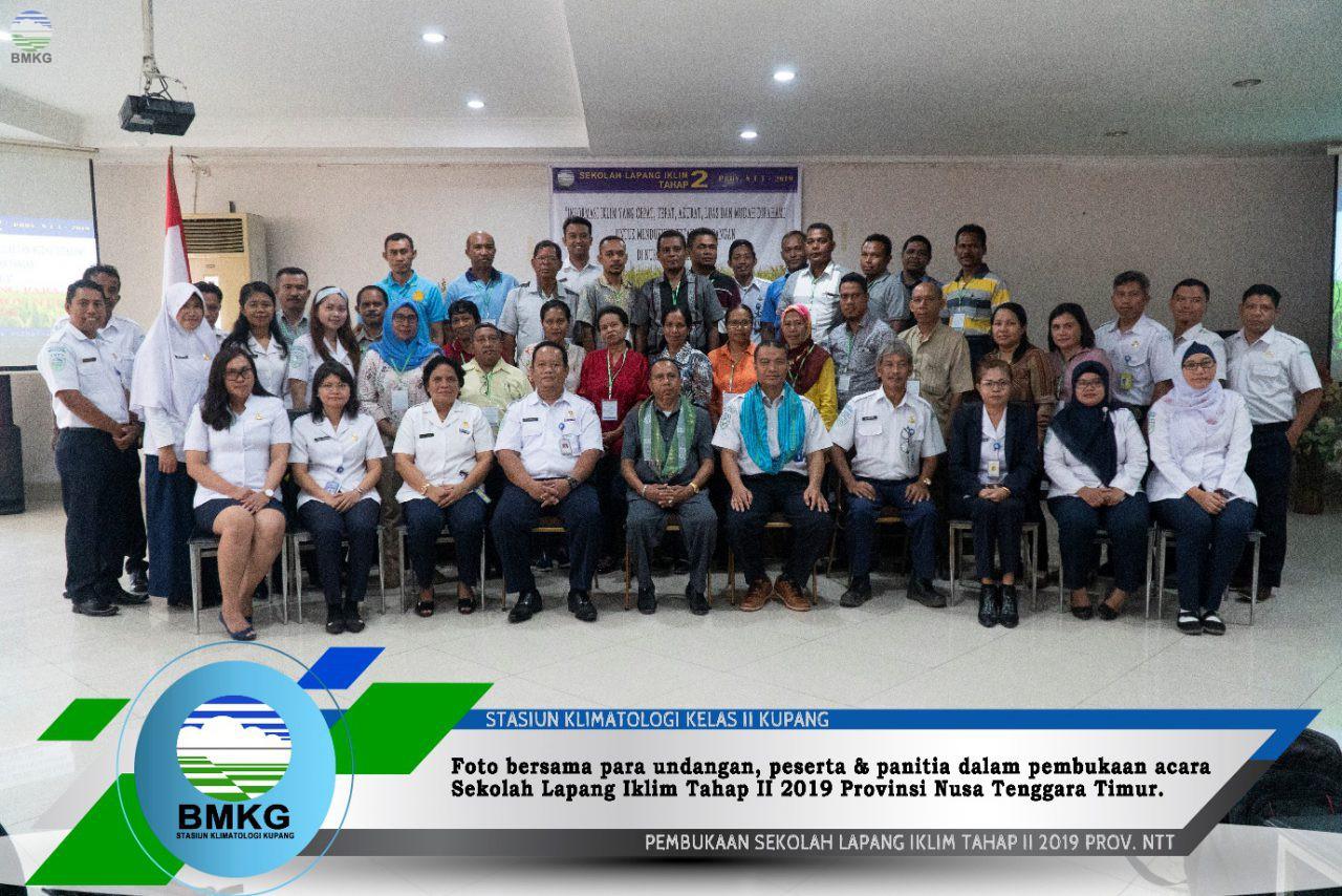 Sekolah Lapang Iklim Kupang Tahap II Tahun 2019